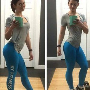 #thankfulthursday So thankful for my amazing clients who work their booties off and support me in every way! It means the world to me to have clients who want to rock my brand and let's be honest @annelliott_ 's booty is doing these leggings a favor www.kyfitness.ca #thatbootytho -------------------------------------------- #gymlife #contestprep #figure #ifbb #npc #cbbf #sabba #yxe #saskatoon #cardio #contestprepprobs #booty #glutes #quads #legs #shredded #fit #fitness #fitspo #kyfit #girlswithmuscle #girlswholift #wpd #bikini #shesquats #kyfitness #kyfit #yxe #saskatoon