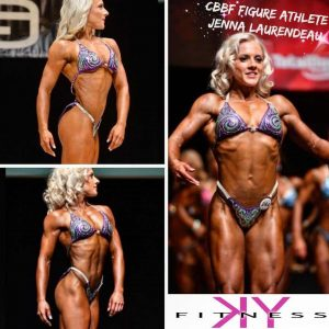 "#WCW (a.k.a WCE!) --- Words can't express how proud I am of @jenlaurendeau for absolutely ROCKING the stage at her first Canadian Bodybuilding Federation (CBBF) national show: Re-post: ""You would think that after 4 shows in 2 years, it would get easier. Unfortunately that was not the case this time around. After prepping for 19.5 weeks for provincials and taking a 6 week break before my 15 week Nationals prep, my body did not want to respond at all. My coach, Kalli, did literally EVERYTHING she could to get me to stage without sacrificing my health and I am so grateful for that. Even when away competing in her Pro shows, she was messaging me and asking how I was doing/feeling when she should have been focusing on herself. You are the reason I have transformed so much in the last year. I'm so thankful to have you as a coach & friend."" ---- It can be a challenge to balance the role's of coach & friend and I DEFINITELY cannot take credit for all of Jenna's hard work, especially in the last week of her prep where she made amazing progress- her hard work speaks for itself and I'm so happy she was rewarded with a TOP SIX finish at the national level (not to mention in a VERY competitive class where the winner was awarded a pro card!) --- I can't wait to see what's next for this girl! #proudisanunderstatement #wcw #thosehamstringsthough P.S. the left side is her progress from provincials to nationals this year, just wow! #figure #cbbf #cbbfnationals #girlswithmuscle #hamstringgoals #ifbb #npc #figure #bodybuilding #sabba #nsabba #progress #goals #fitspo #fitness"