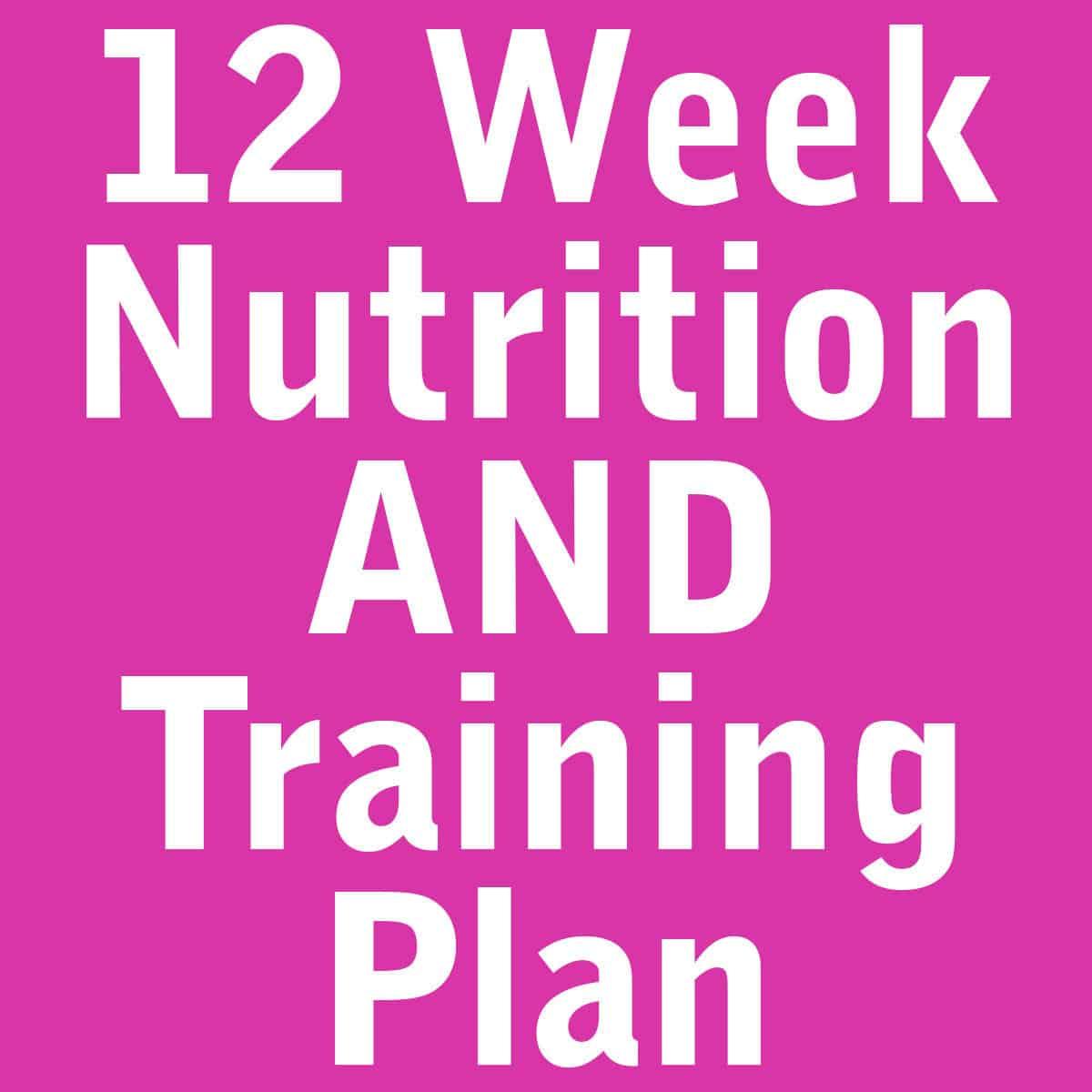 12 week nutrition plan pdf